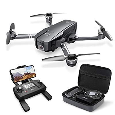 Holy Stone HS720 Foldable GPS Drone with 4K UHD Camera for Adults, Quadcopter with Brushless Motor, Auto Return Home, Follow Me, 26 Minutes Flight Time, Long Control Range, Includes Carrying Bag from Holy Stone