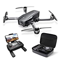 4K UHD Camera with Image Stabilization: The optimized full HD Camera built with Shock Absorption holder ensures shooting 3840 x 2160 high resolution images and videos without camera vibration. 5GHz FPV transmission and 90°adjustable lens enables you ...