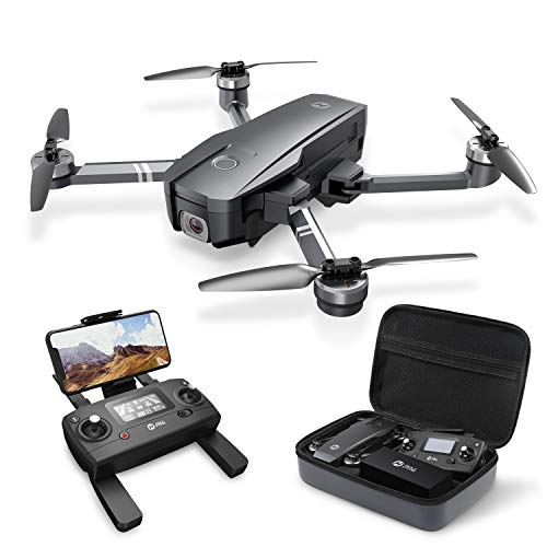 Holy Stone HS720 Foldable GPS Drone with 2K Camera and Brushless Motors, Auto Return Home, Follow Me, 26 Minutes Flight Time, Includes Carrying Bag