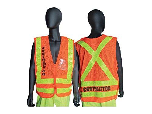 NYCTA Contractor Safety Vest - Medium