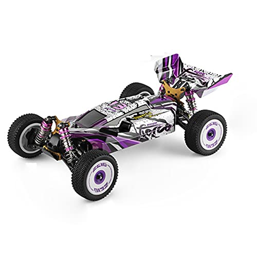 HSCW 1:12 Escala Completa 2.4G RC Stunt Car, Kids RC Toy Car, High Speed Cross Country Racing Car All Terrain Off Road Wheel, 4WD DriftOff-Road Truck, para 3 4 5 6 7 8-14Year Old Cool Boy Toy Gifts