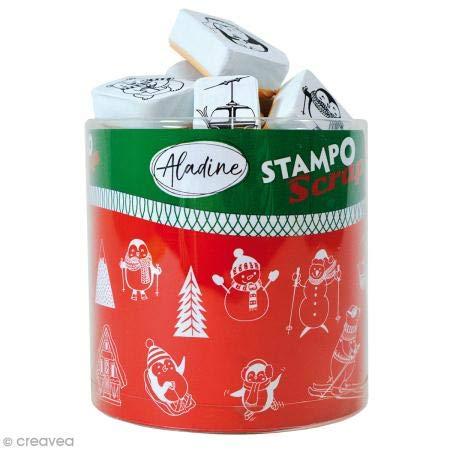 Aladine 03747 Stampo Scrap Weihnachten Figur