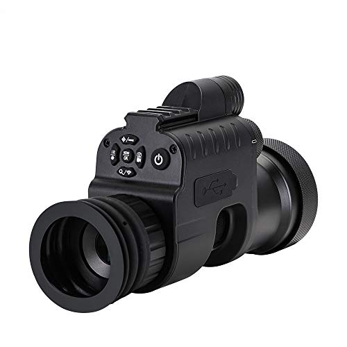 TOMORAL WG760P Kit de Grabador de Alcance de visión Nocturna 1280x960 HD Puntos Rojos Visores Infrarrojos Caza Visión Nocturna Dispositivo de telescopio Imagen Video ⭐