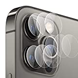 Asoway Pellicola Fotocamera per Apple iPhone 12 PRO, Pellicola Protettiva in Vetro Temperato Fotocamera [3 Pezzi] Durezza 9H, Resistente ai Graffi, Alta Definizione Lente Protettiva Cover