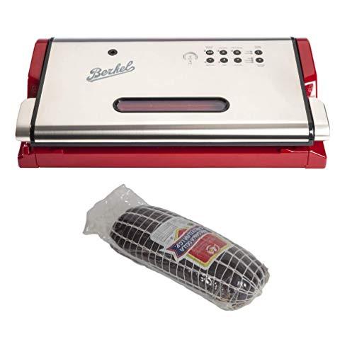 Berkel - Vacuum - Vacuümmachine + CANTALUPPI - Bresaola Punta dAnca van Valtellina I.G.P Vacuum