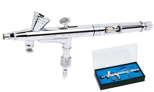 Pistolet á peinture Aérographe Fengda® BD-200 avec buse 0,2 mm