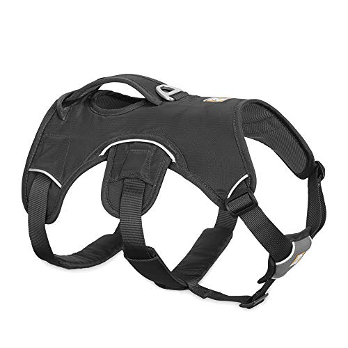 RUFFWEAR, Web Master, Multi-Use Support Dog Harness, Hiking and Trail Running, Service and Working, Everyday Wear, Twilight Gray, X-Small
