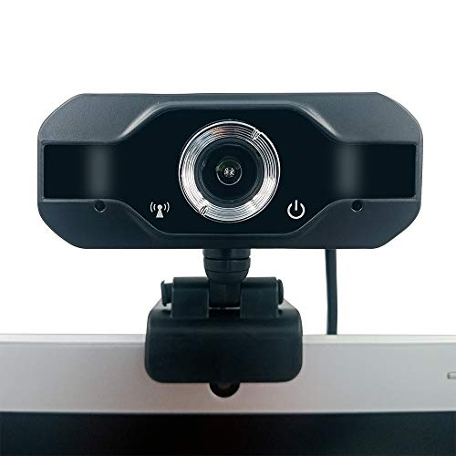 Panoraxy Webcam with Microphone, 1080P Streaming Camera, USB Web Cameras for Computer, Desktop, Video Call, Conference, Supports Windows& Mac