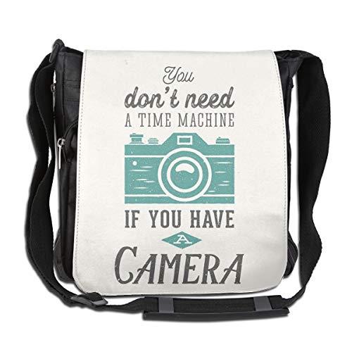 Doinh - Bolso Bandolera de Lona Personalizable para cámara de Fotos, Incluye Bolsa de Hombro, Apto Tanto para Hombres como para Mujeres