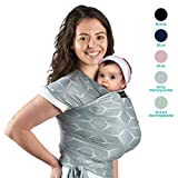 Lightweight My Honey Wrap - Natural and Breathable Baby Carrier Sling for Infants and Babies - 4 Color Options