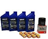 YAMAHA 1.8L HO SHO Oil Change Kit w/Filter...