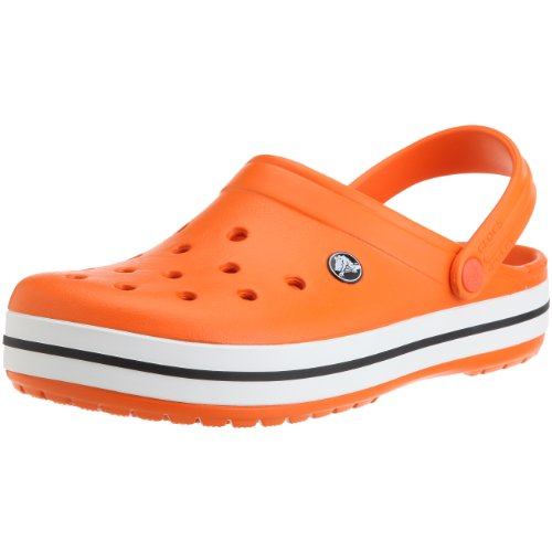 Crocs Crocband, Zuecos Unisex Adulto, color Orange, talla 39-40