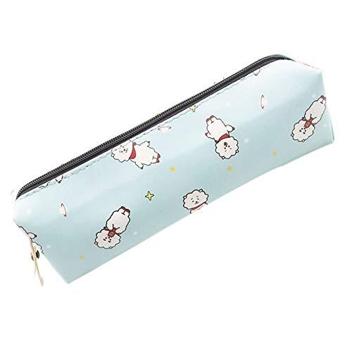 Nuofeng - Kpop Pencil Case PU Wallet Cosmetic Bag Storage Bag Handbag Coin Bag Cartoon Image Pen Bag Hot Gift for A.R.M.Y(H02)