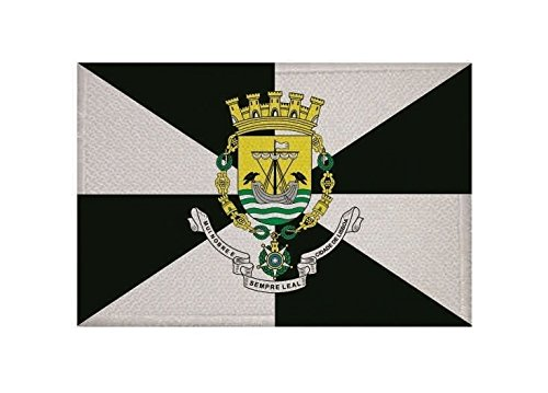 U24 Aufnäher Lissabon Fahne Flagge Aufbügler Patch 9 x 6 cm