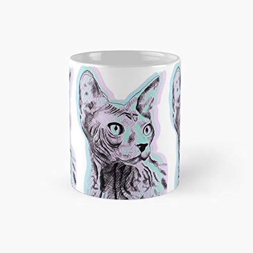 Tripping Pastel Sphinx Classic Mug Best Gift Funny Coffee Mugs 11 Oz