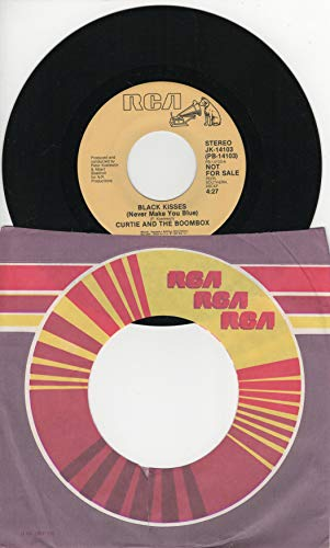 Curtie and the Boombox: Black Kisses (Never Make You Blue) (4:27 Stereo Version) b/w Black Kisses (Never Make You Blue) (Same 4:27 Stereo Version)