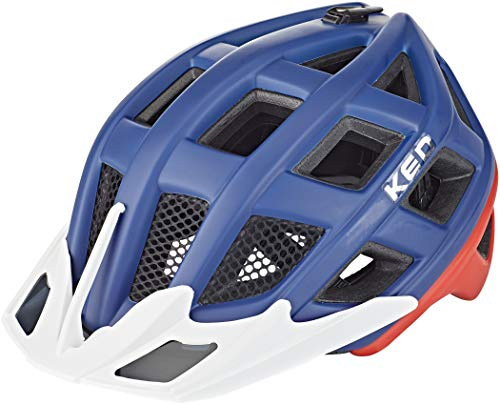 KED Crom Helm Blue/red Matte Kopfumfang L   57-62cm 2020 Fahrradhelm