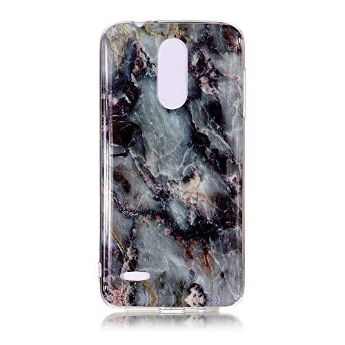 Yhuisen Handy-Taschen und Handy-Hüllen, LG K8 2018 Fall, Marmor Stein Muster weichen TPU zurück Shell Fall für LG K8 2018 (Farbe : 5)