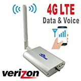 700MHz Verizon Cell Phone Signal Booster for Home and Office 4G LTE Band13 Mobile Phone Signal Amplifier Including 45 Feet RG58 Cable Repeater Full Kit