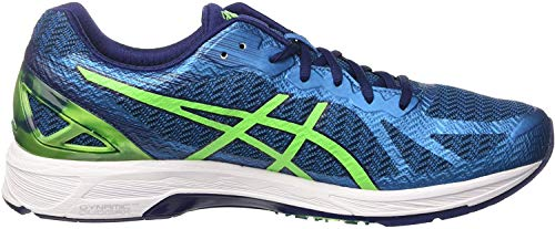 ASICS Herren Gel-ds Trainer 22 Turnschuhe, Blau (Indigo Blue/Green Gecko/Thunder Blue), 42 EU