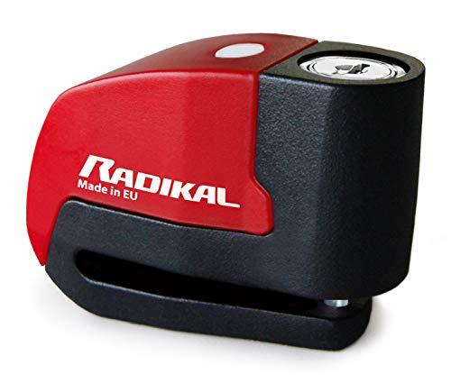 Radikal RK6 Antirrobo Disco con Alarma 120db + Warning, ø6