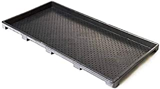 Extra Strength Microgreens Seedling Trays, Seed Starter Growing Kit. Larger than 1020 Trays WITH Holes for Barley, Wheat Grass, Fodder, Planting, Seeds, Propagation System | NEW TRAY DESIGN