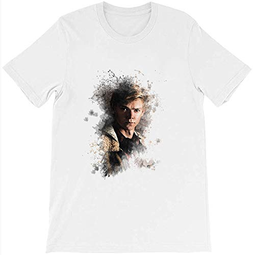 Twins LLC Newt Maze Runner Death Cure Painting Design Color Thomas Sangster Brodei Funny Gift for Men Women Girls Unisex T-Shirt (White-L)