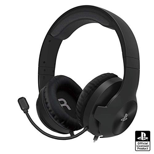 【SONYライセンス商品】ホリゲーミングヘッドセット スタンダード for PlayStation®4 ブラック【PS4対応】