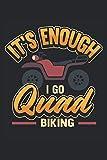 Carnet Quad I Go Quad: Bloc-notes pour les conducteurs de quad et tout-terrain / agenda / journal pour notes et planification /...
