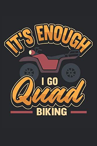 Cuatriciclo voy a montar en quad: Cuaderno para conductores de quad y todoterreno / diario / diario para notas y planificación / planificador y recordatorios