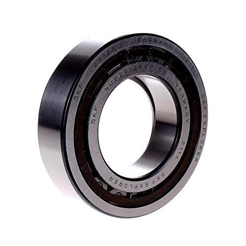 SKF cilindrische roller Bearing, één rij, twee stuks, afneembare ring binnen, rechte boring, hoge capaciteit, C3 Clearance, polyamide/nylon kooi, metrisch, 60mm Bore, 110mm OD, 28mm Width, 1