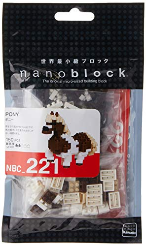 Nanoblock Pony