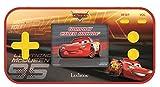 LEXIBOOK The Movie Disney Cars Compact Cyber Arcade Consola portátil, 150 Juegos, LCD, Funciona con Pilas, Rojo