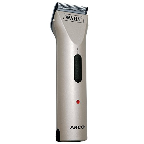 Wahl Professional Animal Arco Pet, Dog, Cat, and Horse Cordless Clipper Kit, Champagne (#8786-452)