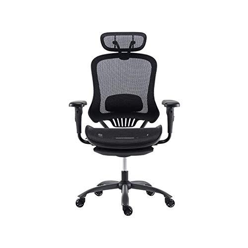 HMBB Sillas de Escritorio, Multifuncional Silla giratoria Adecuada, Home Office Chair Videojuegos, Spine Protección Silla del Jefe