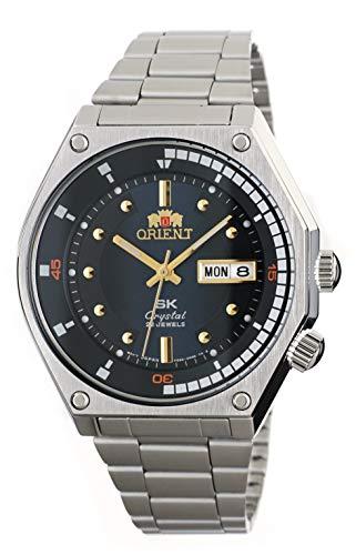 Orient Sports SK Retro 70er Jahre Automatik Stahl Uhr mit blauem Zifferblatt RA-AA0B03L