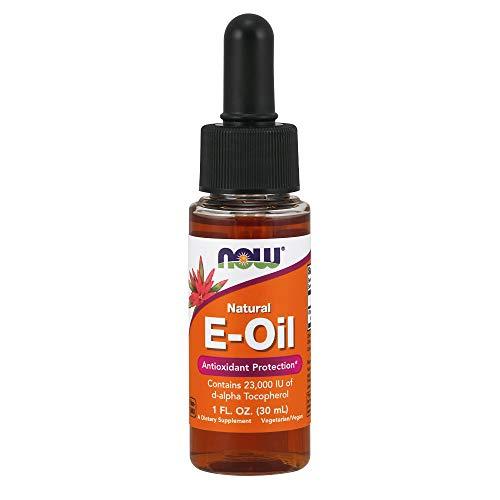 Now Natural Vitamin E Oil Antioxidant Protection