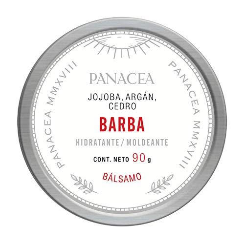 Bálsamo para BARBA natural, hidratante y moldeador para barba, bigote y cabello. 100% Ingredientes naturales, sin químicos. Contiene jojoba, cera de abeja, y aceites de geranio y cedro. 90g.