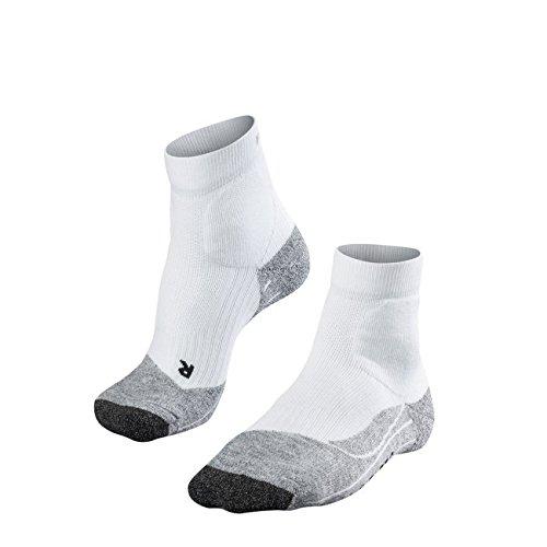 FALKE Damen Socken Tennis TE2 Short 1er Pack, Größe:39/40, Farbe:white/grey-2020