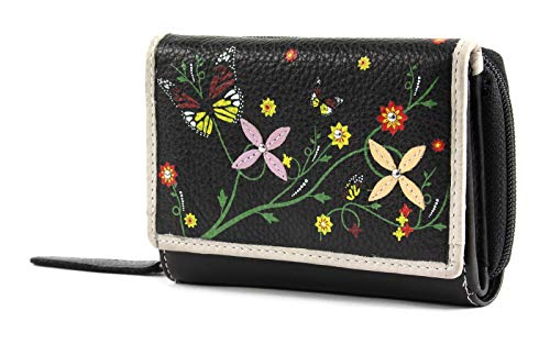 bruno banani Butterfly Wallet With Flap Black