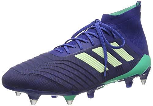 adidas Predator 18.1 SG, Zapatillas de Fútbol Hombre, Azul (Uniink/Aergrn/Hirblu Uniink/Aergrn/Hirblu), 40 2/3 EU