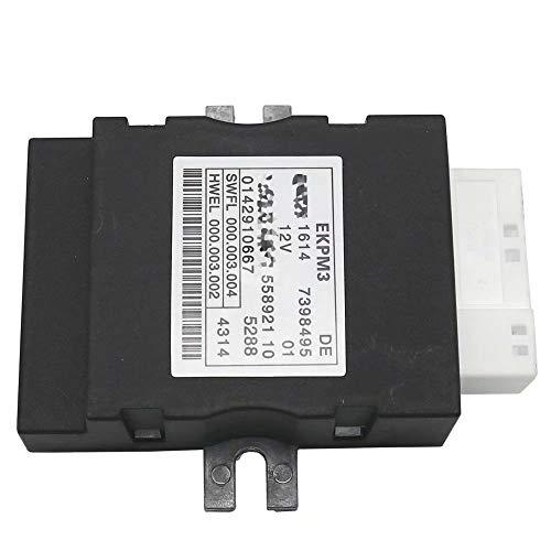 EMIAOTO Control Unit for Fuel Pump ECU EKPM3 Module 16147368349 7398495 for BWM 6 Series F06 F12 F13 2011-2015