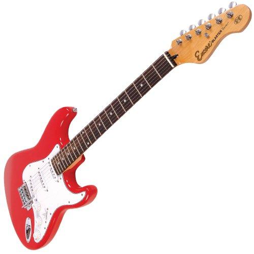 Encore EBP-E6RED - Guitarra eléctrica, color rojo