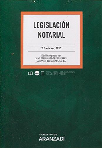 Legislación Notarial (Papel + e-book) (Código Profesional)