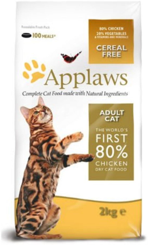 Applaws Naturale Completo Gatto adulto Cibo Dry Mix con Pollo 2kg