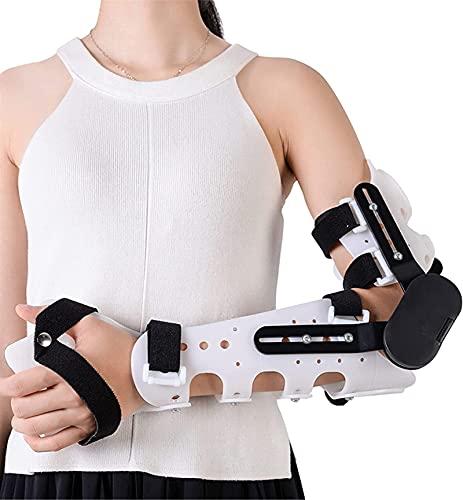 Frauen Männer angelenkte Ellenbogenstütze für dislozierte Armchirurgie Verletzungen Erholung Schmerz Relief Arm Unterstützung Schiene Orthese Chirurgie Erholung Band- und Sehnen-Reparaturen und -Lösun