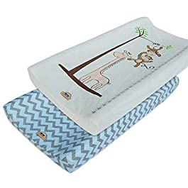 Ultra Soft and Comfortable Changing Pad Cover 2pk by BlueSnail