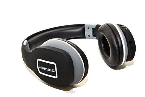 Grundig 8711252870564 Bluetooth-Kopfhörer schwarz/rosa/grau