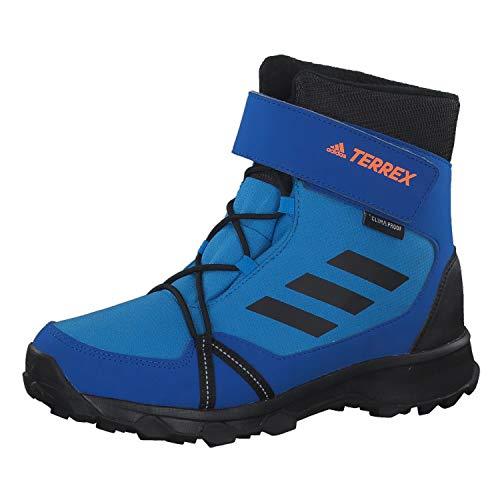adidas Terrex Snow Cloudfoam CP Climawarm, Unisex-Kinder Trekking- & Wanderstiefel, Blau (Brblue/Cblack/Hireor Brblue/Cblack/Hireor), 32 EU (13.5 UK)