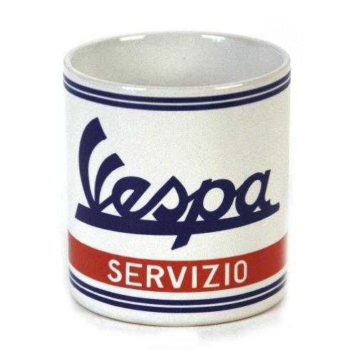 Tasse en céramique Blanche Vespa